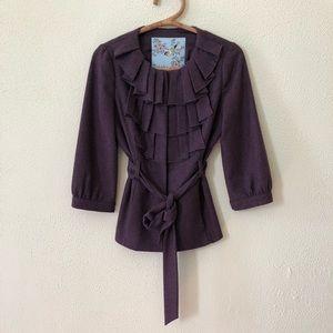 Anthropologie Tabitha Wool Jacket 4